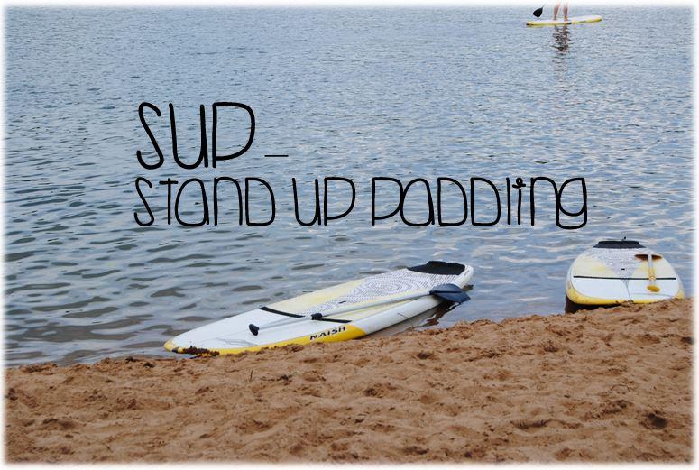 Stand Up Paddling auf dem KahlerSee