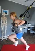 Ausfallschritt mit Schwung, Beweglichkeit Hüfte, Oberschenkel