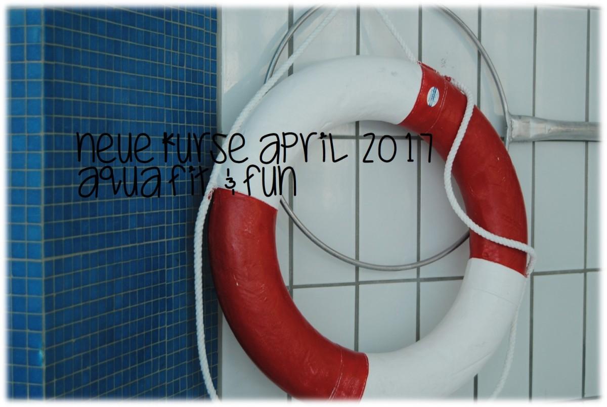 Neue Kurse im April – Aqua Fit &Fun