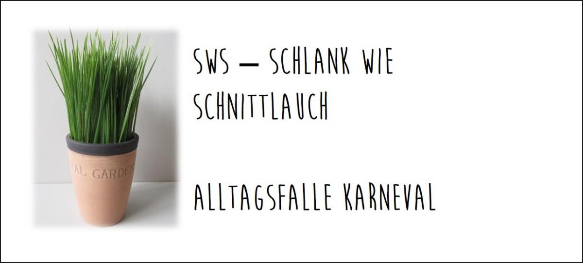 SWS – Es kommt Bewegung ins Spiel und die AlltagsfalleKarneval