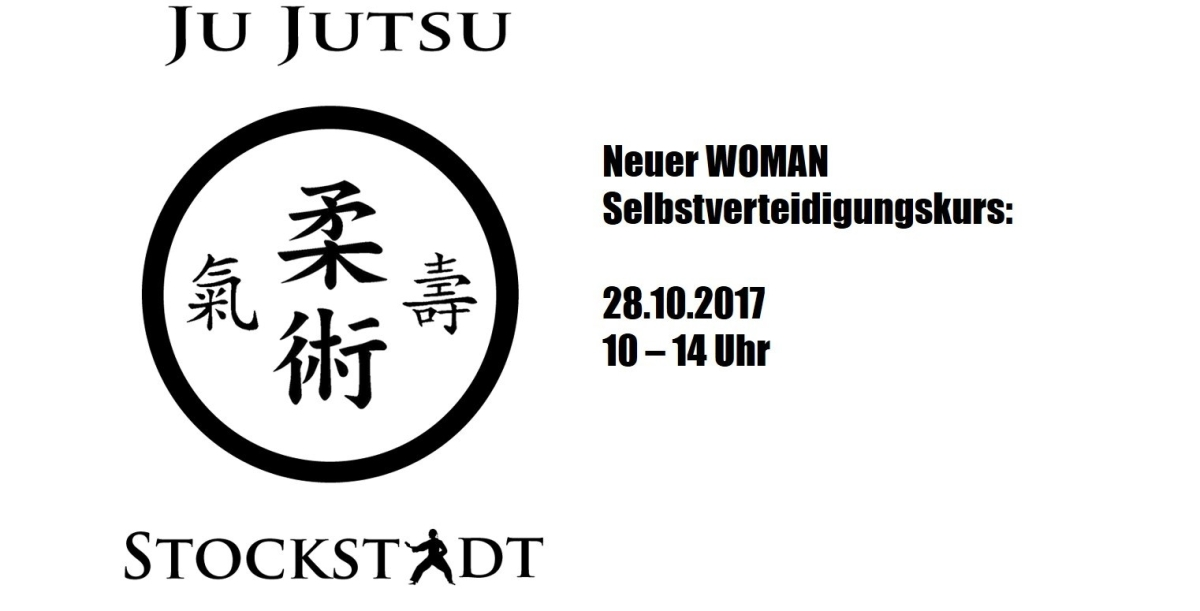 Termin für neuen WOMAN Selbstverteidigungskurs Ju Jutsusteht