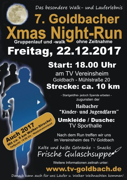 Xmas Night Run Goldbach