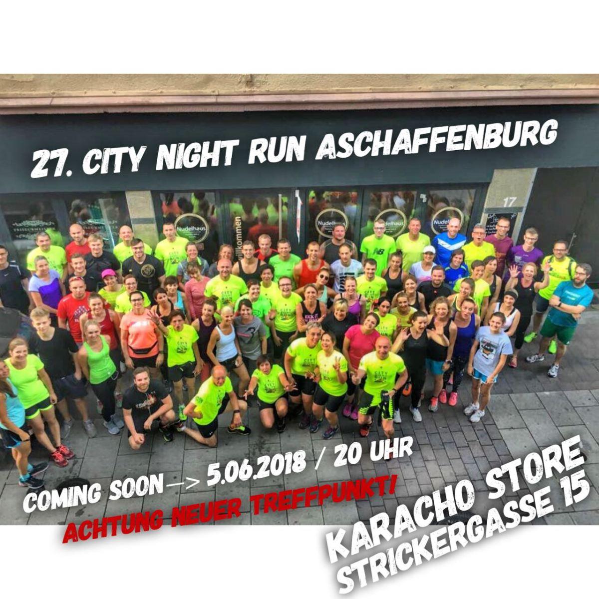 Ja wo laufen sie denn?! 27. City Night Run mit neuemTreffpunkt!